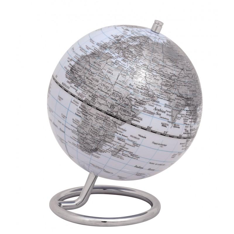Mini-Globus GALILEI WHITE Ø 130