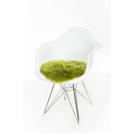Neuseeland-Schaffell Sitzauflage – Fellkissen Ø 37cm von Auskin