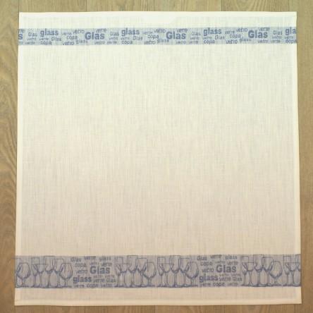 """Leinen Geschirrtuch/Handtuch """"Gläsertuch"""" – Driessen Schlitzer Leinen (blau)"""