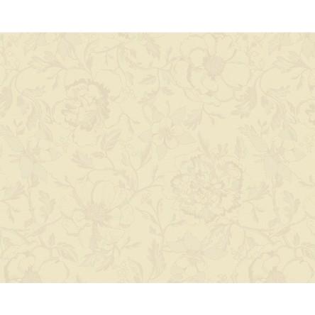 MILLE CHARMES ECRU DE BLANC – Beschichtetes Tischset von Garnier Thiebaut, écru