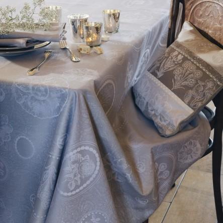 MILLE ECLATS MACARON IRISÉ – Beschichtete Tischdecke von Garnier Thiebaut