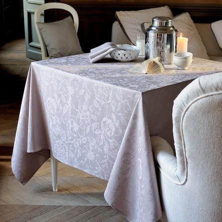 MILLE CHARMES TAUPE – Tischdecke von Garnier Thiebaut