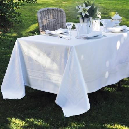 BEAUREGARD BLANC – Tischdecke von Garnier Thiebaut