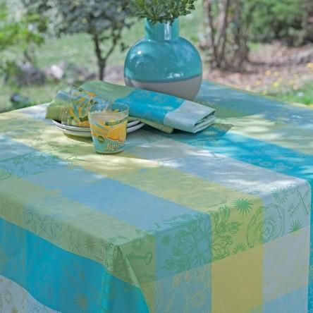 MILLE ALCEES NARCISSE – Beschichtete Tischdecke von Garnier Thiebaut