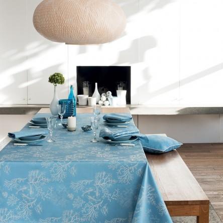 MILLE CORAUX OCEAN – Beschichtete Tischdecke von Garnier Thiebaut
