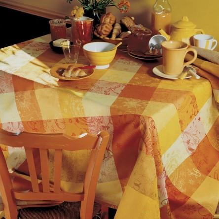 MILLE COULEURS SOLEIL – Beschichtete Tischdecke von Garnier Thiebaut