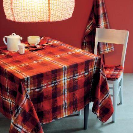 MILLE PANACHE ARA – Beschichtete Tischdecke von Garnier Thiebaut