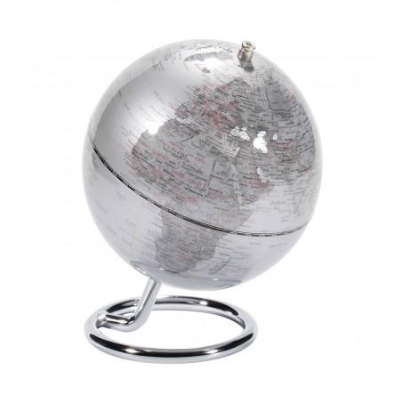 Mini-Globus GALILEI SILVER Ø 130