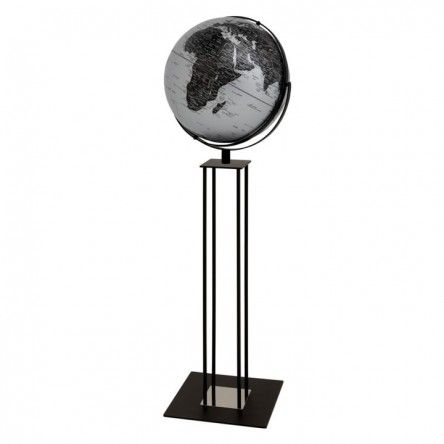 Standglobus WORLDTROPHY MATT SILVER NIGHT Ø 430