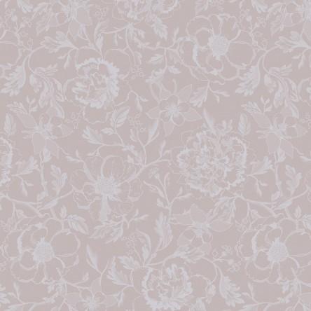 MILLE CHARMES ROSE FUME – Serviette von Garnier Thiebaut, reine Baumwolle