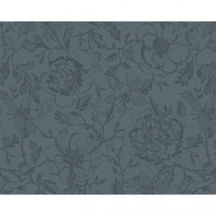 MILLE CHARMES ANTHRACITE – Beschichtetes Tischset von Garnier Thiebaut