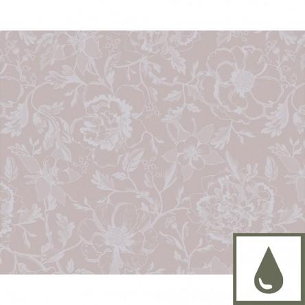 MILLE CHARMES ROSE FUME – Beschichtetes Tischset von Garnier Thiebaut