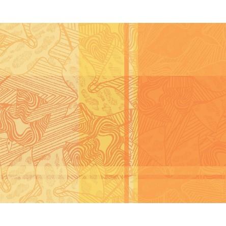 MILLE OISEAUX LIMONI – Beschichtetes Tischset von Garnier Thiebaut