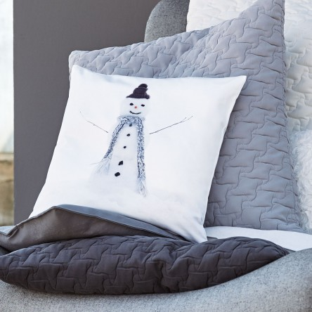 Snowman 2 – Kissen/Kissenhülle von Proflax