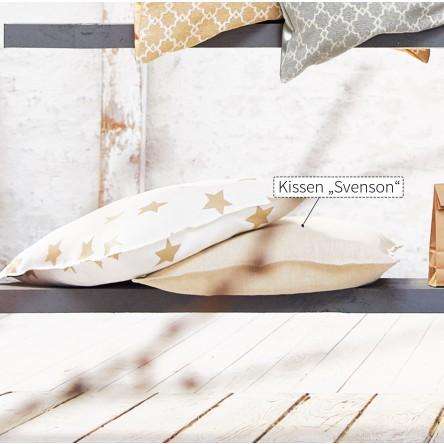 Svenson – bügelfreies und abgestepptes Kissen/Kissenhülle von Proflax
